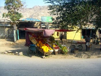 Fruit seller, Kabul