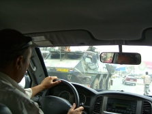 NATO/ISAF tanks rolling through Kabul was a common sight