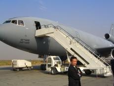 US National Security Adviser plane