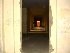 Inside palace ruins